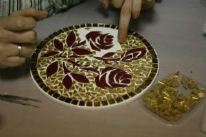 Прямой набор мозаики