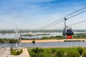 Канатная дорога в Днепропетровске