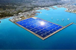 Солнечная электростанция в японии