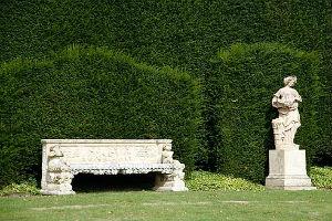 Мебель в итальянском саду