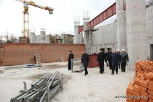 Строительство кафедрального Узбекского собора в Киеве