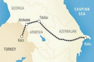 Путь Баку-Тбилиси-Карс