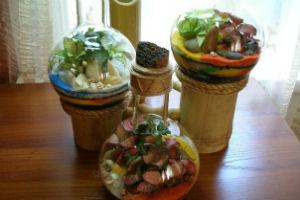 Бутылочный сад