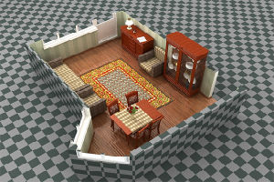 Расставляем мебель