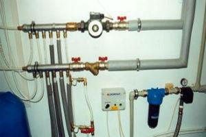 Виды схем разводки водопровода в квартире