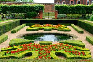 Водоемы в стиле французский сад
