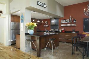 Как сделать кухню в стиле кафе