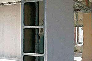 Колонны из гипсокартона