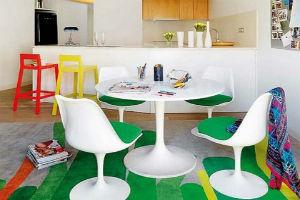 Мебель для кухни в стиле кафе