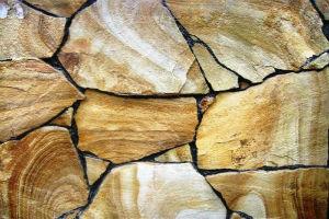 Облицовка под камень из плашки