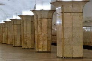 Облицовка колонн плиткой