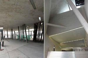 Конструкции зданий деконструктивизма