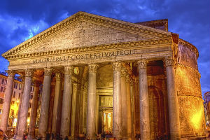 Пантеон древнего Рима