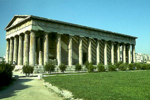 Парфенон древней Греции
