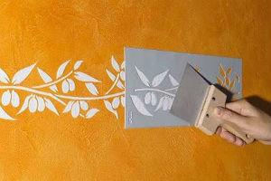 Трафареты для рисунков из штукатурки