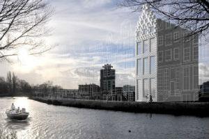 Дом в Амстердаме на 3D принтере