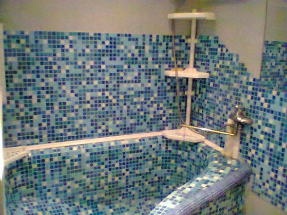 ванна из бетона в хрущевке