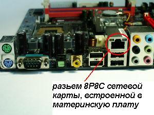 встроенное сетевое оборудование fast ethernet