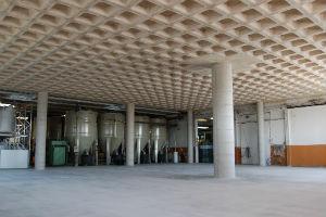 Кесонное монолитное перекрытие промышленных зданий