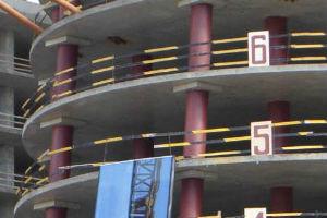 Монолитное безбалочное перекрытие промышленных зданий по колоннам капительного типа