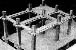 Монолитные Безбалочные сборные перекрытия промышленных зданий по колоннам капительного типа