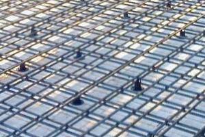 Устройство арматурного каркаса междуэтажных монолитных плит перекрытий жилых домов