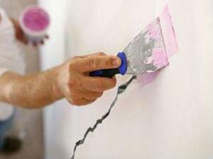 обработка и заделка трещин стен