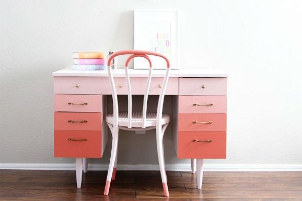 Мебель в стиле омбре, деграде, градиент