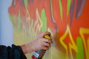 Разукраска граффити по контурам