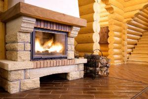 Советы по сооружению традиционного каменного камина загородного дома