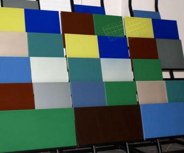 Применение эмалированного стекла в современном дизайне