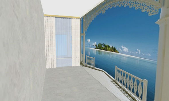 Фотообои для визуального увеличения пространства комнаты