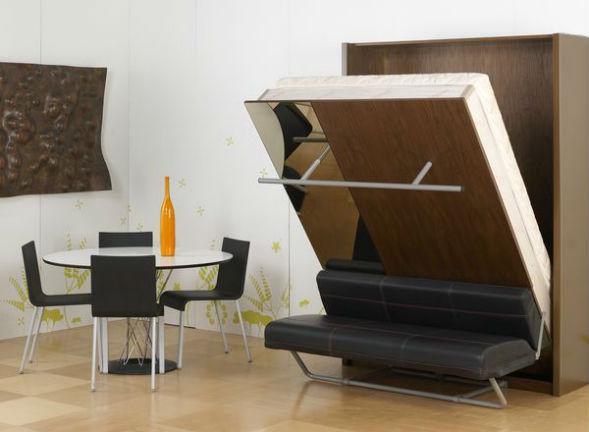 Мебель трансформер для маленьких комнат