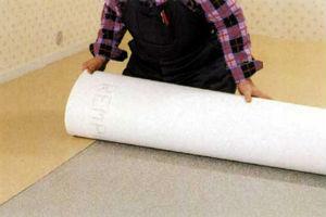 Метод свободной укладки ковровых покрытий