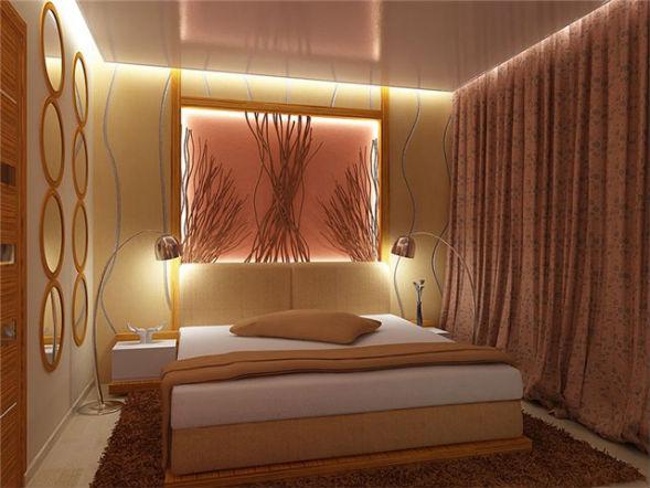 Освещение для визуального увеличения комнаты