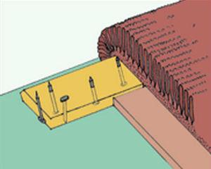 Укладка коврового покрытия стретчингом