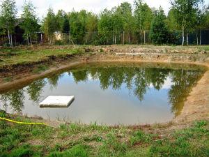 Фундаменты га грунтах с высоким уровнем грунтовых вод