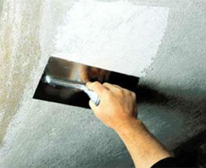 Подготовка поверхностей, оклеенных стеклохолстом под декоративные покрытия