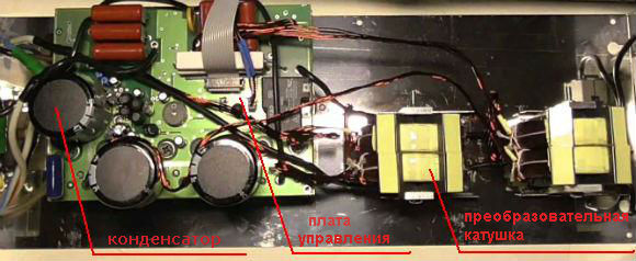 Современный бытовой инверторный стабилизатор напряжения в разборе