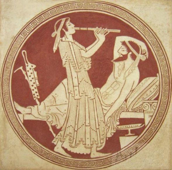 Штукатурка сграффито в классическом резном исполнении