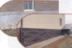 Виды и особенности отделки цоколя дома облицовочными материалами