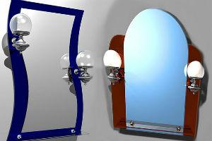 Зеркала в интерьере, их стили и оформление обрамлений
