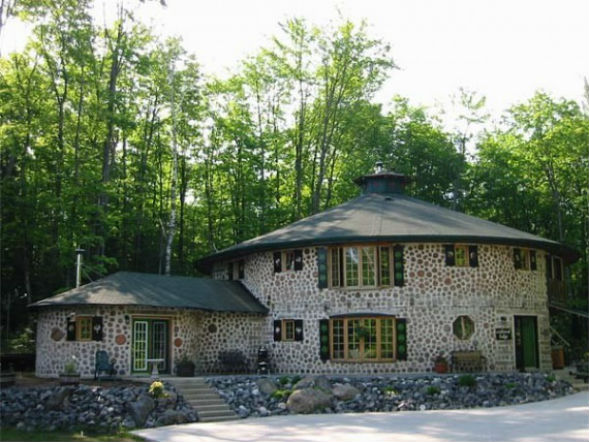будинок з дров