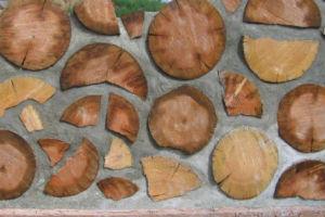 Технология кладки стен дома из дров