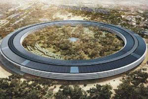 Строительство кампуса Apple в Купертино идет без задержек, окончание планируется на конец 2016