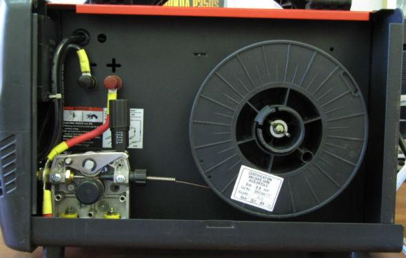 Модуль подачи проволоки полуавтоматического сварочного аппарата для дома и дачи
