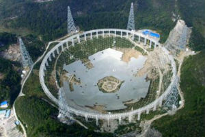 Китайская республика строит наибольший на Земле радиотелескоп
