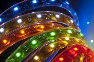 Виды светодиодного ленточного декоративного освещения