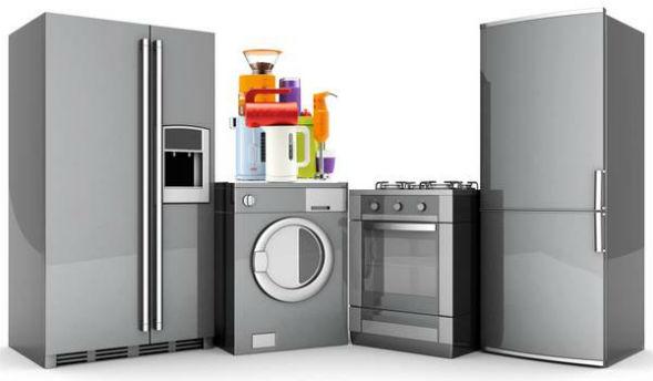 Размещение бытовой техники для кухни