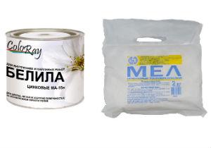 Наповнювачі для водоемульсійних традиційних фарб радянських часів